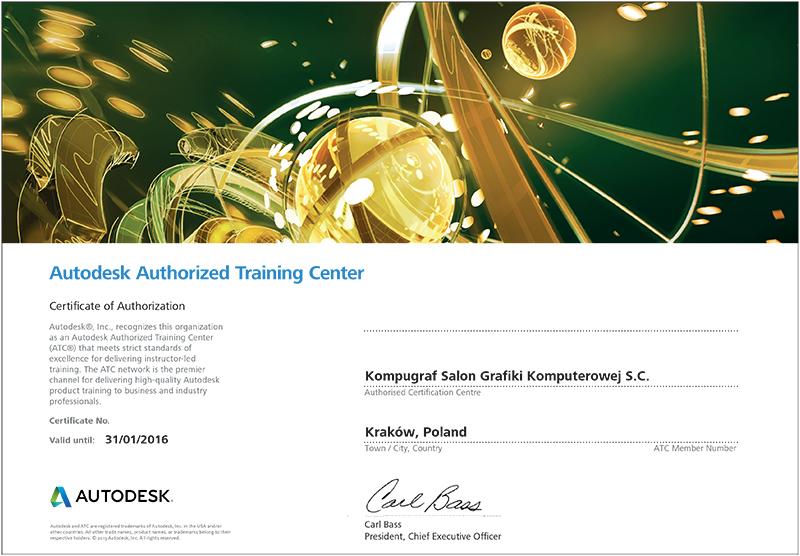 Authorized Training Center Autodesk